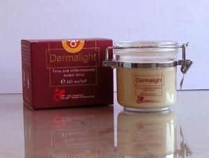 крем-гель для отбеливания кожи лица