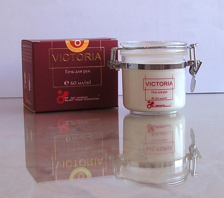 Крем для рук: гель «Victoria»