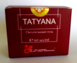 Питательный крем для лица «TATYANA»