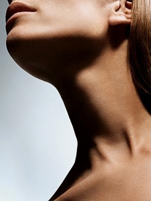кожа шеи
