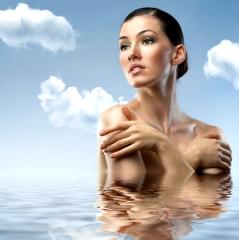 увлажнение кожи лица и тела