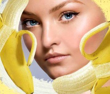 Банановая маска для лица – гладкость и молодость кожи