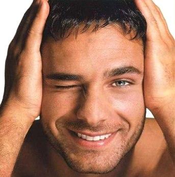 кожа лица мужчины