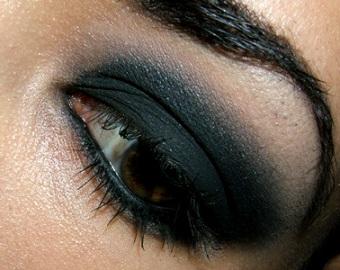макияж smoky eyes
